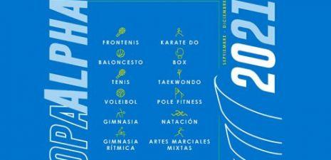 RESURGE LA FIESTA DEPORTIVA DEL CLUB ALPHA, CON LA COPA ALPHA 2021