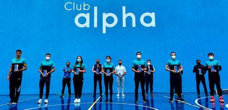 RECONOCE EL CLUB ALPHA A SUS MEDALLISTAS DE LOS JUEGOS NACIONALES CONADE 2021