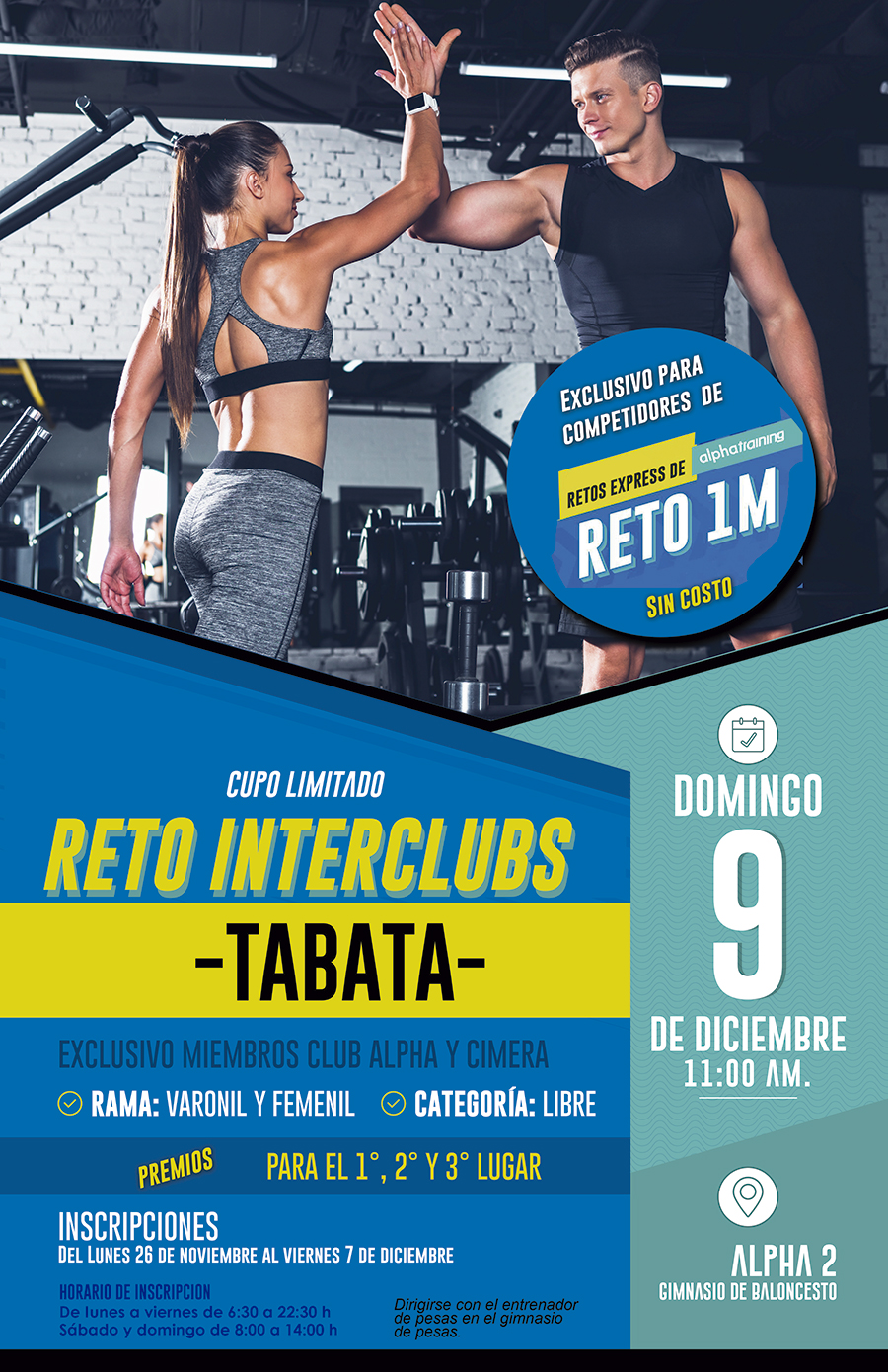 web reto 1m interclubs