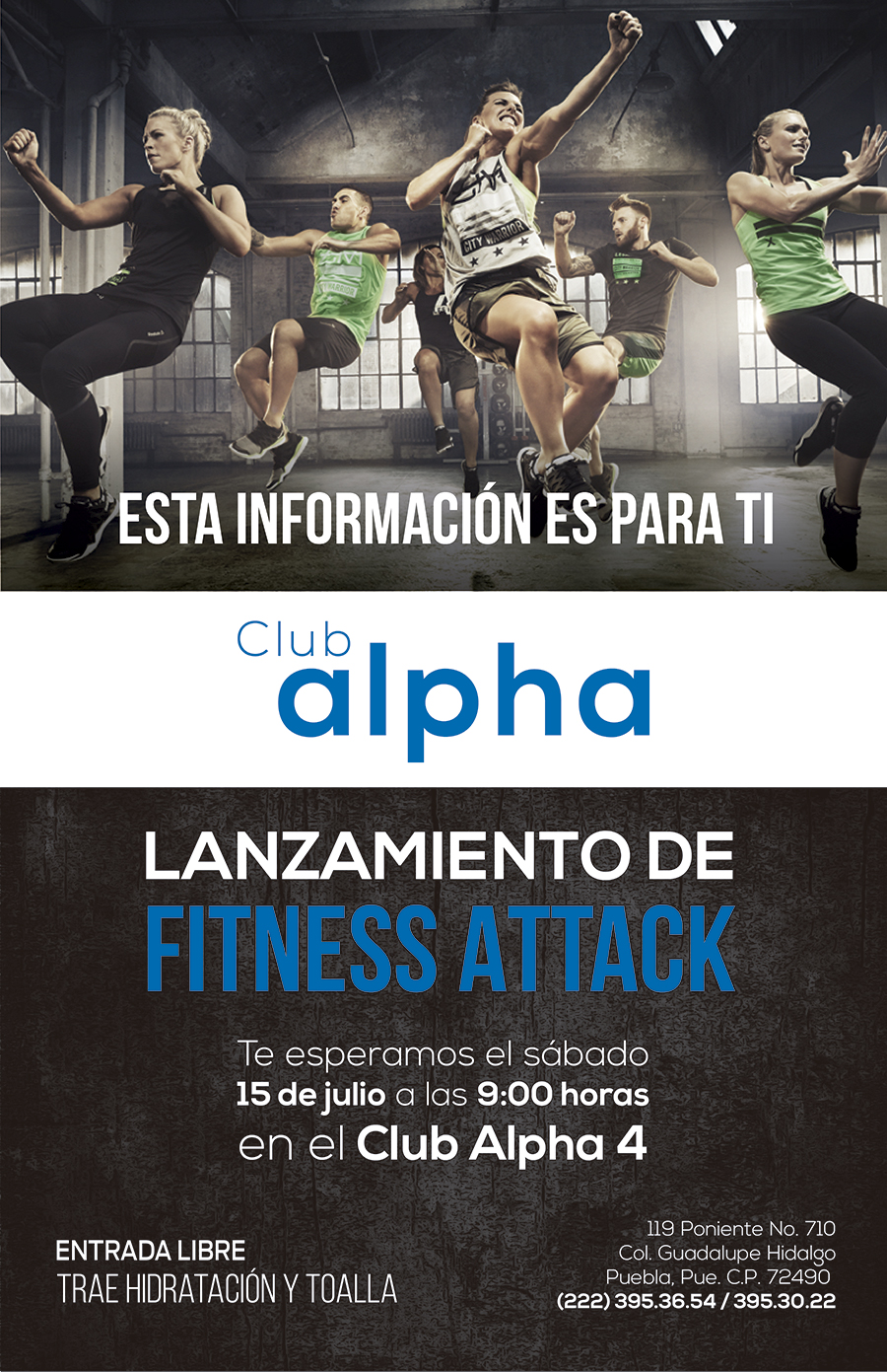 fitness attack alpha4